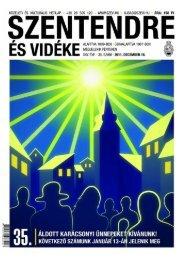 35. szám 2011. december 16. - Szentendrei Hírek