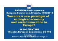 Towards a new paradigm of ecological economy and social ...