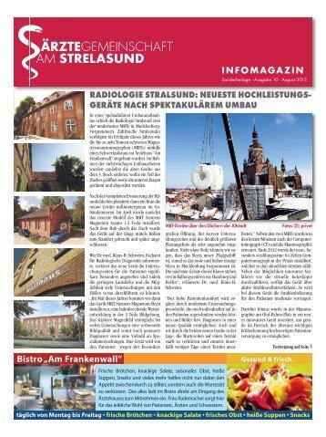 Infomagazin Ausgabe 2/2013 - Ärztegemeinschaft am Strelasund