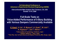 Full-Scale Tests on Value-Added Performance of 5-Story ... - PEER