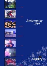 Årsberetning 1996 - Statskog