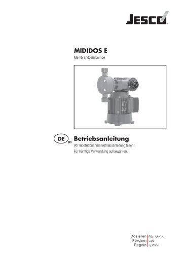 MIDIDOS E Betriebsanleitung - Lutz-Jesco GmbH