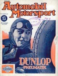 Automobil motorsport 1927 2. évfolyam 13. szám - EPA