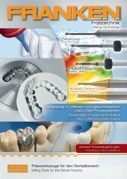 Fräswerkzeuge für den Dentalbereich - Interempresas