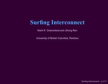 Surfing Interconnect