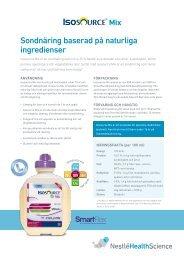 Isosource® Mix - Nestlé Nutrition