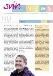 Work-Life-Balance – Wunsch und Wirklichkeit - Hostpoint