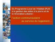 du Programme Local - le Grand Dijon