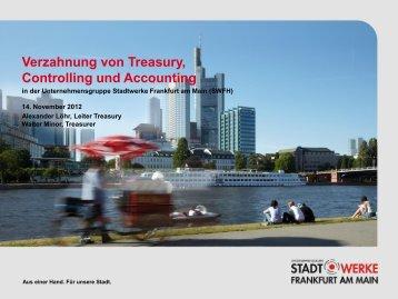 Verzahnung von Treasury, Controlling und ... - Finance Magazin