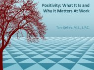 Positivity: What Is It and How Does It Affect Your Work?