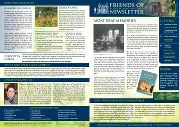 newsletter - The Peter Pan Moat Brae Trust