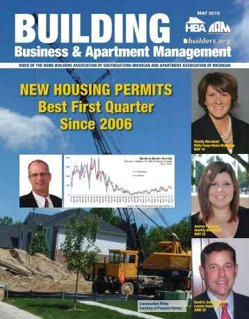 May 2013 BBAM Magazine - HBA of Southeastern Michigan