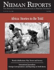 Download issue (PDF) - Nieman Foundation - Harvard University