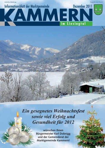 Singkreis Kammern - Gemeinde Kammern im Liesingtal