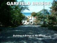 Building a Bridge to Nowhere Presentation