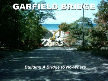 Building a Bridge to Nowhere Presentation
