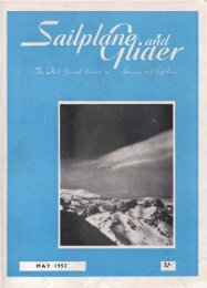 Sailplane & Glider 1952 - Lakes Gliding Club