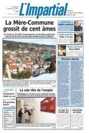 Edition du 9 janvier 2004