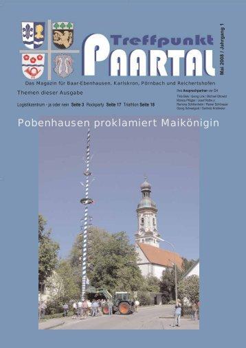 Pobenhausen proklamiert Maikönigin