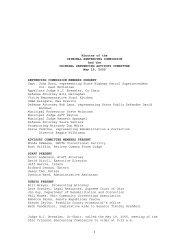 Minutes of the CRIMINAL SENTENCING ... - Supreme Court