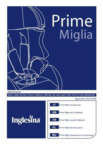 Prime Miglia.cdr - Inglesina