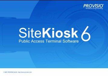 SiteKiosk - Media Arts Systemhaus