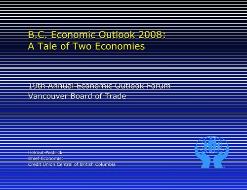 Freelance Graphics - VBOT2008outlookc.PRZ - Vancouver Board of ...