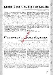 Das aventurische Arsenal - Ulisses E-Books