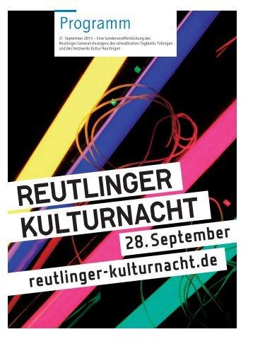 kulturnachtprogramm.pdf - 5 MB - Reutlinger Kulturnacht