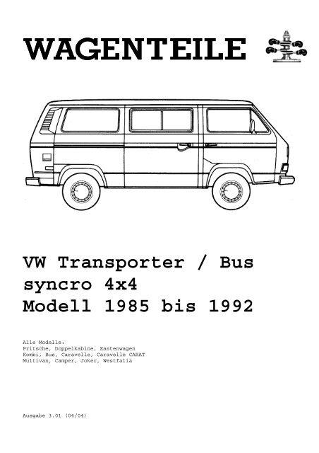 Stoßstangenecke hinten rechts  Kunststoff VW Bus T3 Carat LLE und andere orig VW