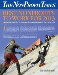 BEst NONPROFITS TO WORK FOR 2013 - The NonProfit Times