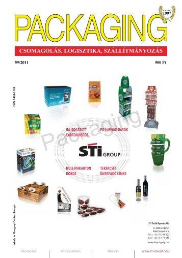 CSOMAGOLÁS, LOGISZTIKA, SZÁLLÍTMÁNYOZÁS - Packaging