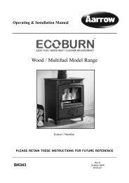 Wood / Multifuel Model Range - Stoves Online