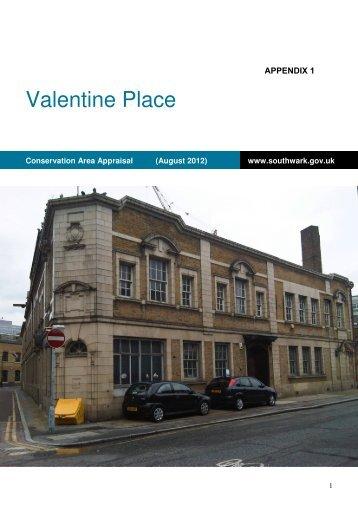 Appendix 1 - Southwark Council