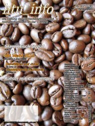 Ausgabe № 03 / 2011 - HTU HochschülerInnenschaft an der TU Wien