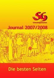 SG-Journal 07/08 - Schwalmschule Treysa