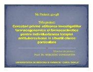 Cercetari privind utilizarea investigatiilor ... - Prezentare