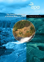 The Provision and Quality of Drinking Water in Ireland - Galway City ...