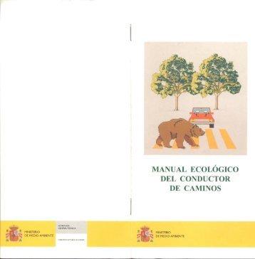 MANUAL ECOLOGICO DEL CONDUCTOR DE CAMINOS