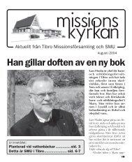 SMU - Missionskyrkan Tibro