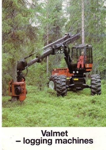 Valmet Logging Machines, 80s - Unusuallocomotion.com