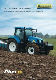 NEW HOLLAND T6OOO PLUS
