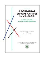 Aboriginal Co-operatives in Canada - Centre for the Study of Co ...