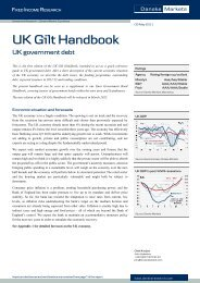 UK Gilt handbook (09 May) - Danske Analyse - Danske Bank