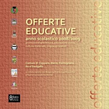 OFFERTE EDUCATIVE - Biblioteca Comunale di Copparo