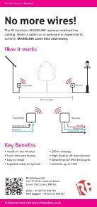 MAINSLINK Product flyer - RF Solutions - Page 2