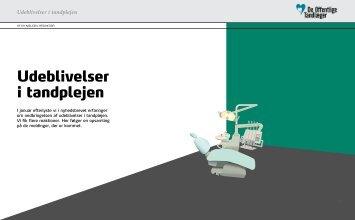 Udeblivelser i tandplejen. Af Ea Nielsen - De Offentlige Tandlæger
