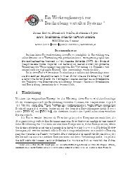 Ein Werkzeugkonzept zur Beschreibung verteilter Systeme 1 ...