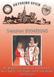 Session 2004/2005 - Karnevals Ausschuss Spich