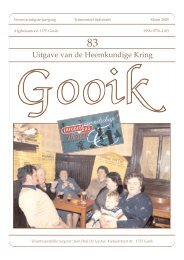 Nummer 83.qxd - Heemkundige Kring van Gooik